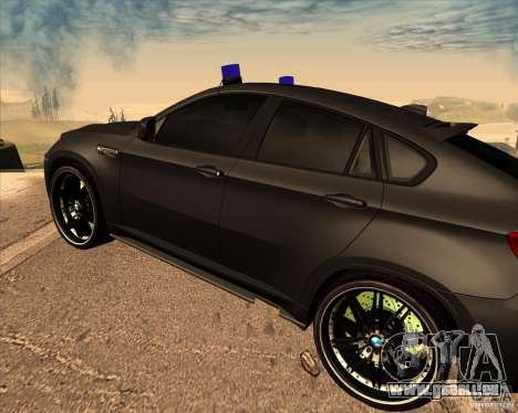 BMW X6 M E71 für GTA San Andreas rechten Ansicht