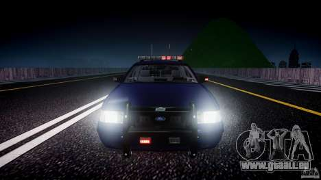 Ford Crown Victoria Homeland Security [ELS] für GTA 4-Motor