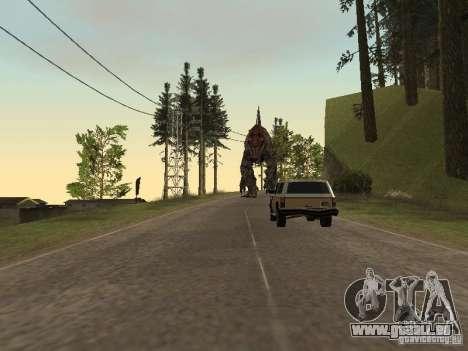 Dinosaurs Attack mod für GTA San Andreas achten Screenshot