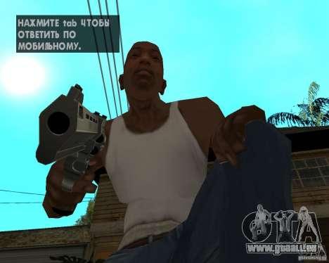 Magnum 22,2 pour GTA San Andreas troisième écran