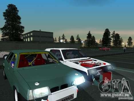 VAZ 2109 ziehen für GTA San Andreas Innenansicht