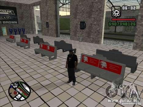 Petite anecdote pour GTA San Andreas troisième écran