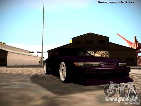 Nissan Silvia S13 Tandem Of DIE für GTA San Andreas rechten Ansicht