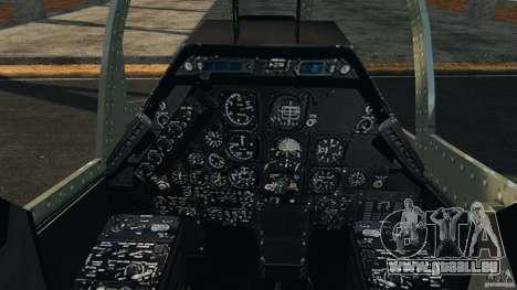 Bell AH-1 Cobra für GTA 4 Rückansicht
