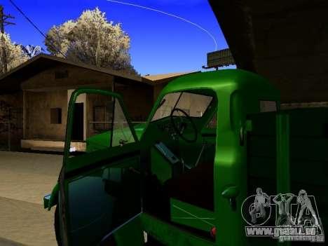 GAS-51A für GTA San Andreas Innenansicht