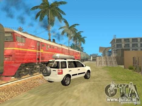 Ford EcoSport 2008 pour GTA San Andreas laissé vue