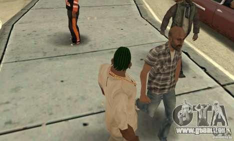 Kornrou vert pour GTA San Andreas deuxième écran
