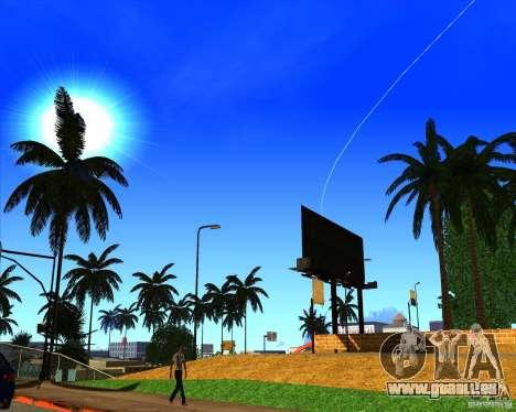 Cadre magnifique ENBSeries pour GTA San Andreas cinquième écran