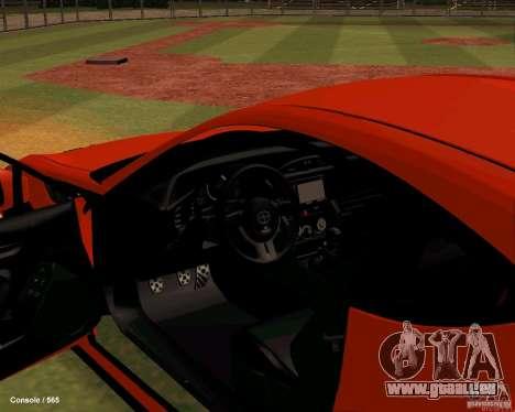 Scion FR13 pour GTA San Andreas vue arrière