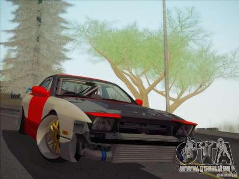 Nissan RPS13 Drift Korch pour GTA San Andreas vue arrière