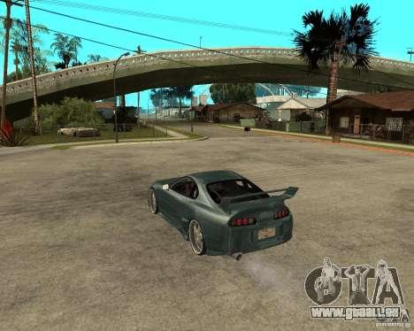 Toyota Supra Veilside pour GTA San Andreas laissé vue