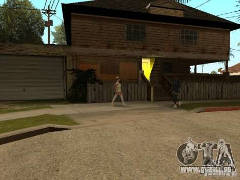 Girlz Medic in Grove pour GTA San Andreas deuxième écran
