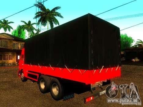 KAMAZ 53215 pour GTA San Andreas laissé vue