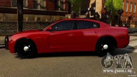 Dodge Charger RT Max FBI 2011 [ELS] pour GTA 4 est une gauche