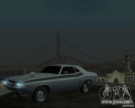 Dodge Chellenger V2.0 für GTA San Andreas linke Ansicht