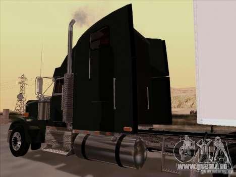 Freightliner FLD 120 Classic XL für GTA San Andreas Rückansicht