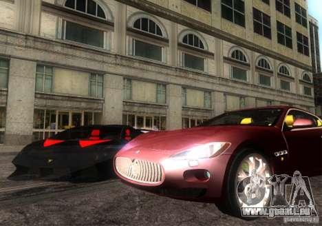 Maserati Gran Turismo für GTA San Andreas rechten Ansicht