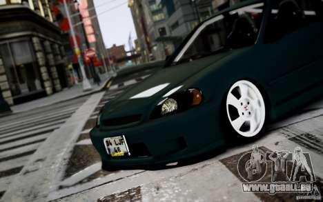 Honda Civic 1.4iES HB 1999 pour GTA 4 est une gauche