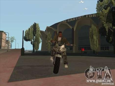 TLaD Double T Custom für GTA San Andreas zurück linke Ansicht