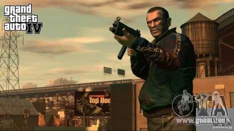 Bildschirme von GTA 4 laden für GTA San Andreas zweiten Screenshot