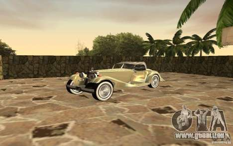 Mercedes-Benz 500K für GTA San Andreas