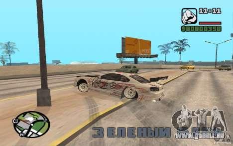 Nissan 150SX pour GTA San Andreas vue arrière