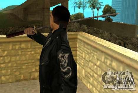 Ersatz skins Yakuza für GTA San Andreas dritten Screenshot