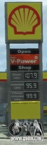 Shell Petrol Station V2 Updated für GTA 4 fünften Screenshot