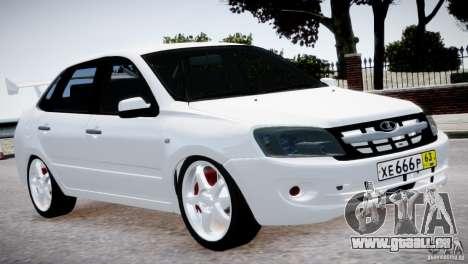 Lada Granta v1.1 pour GTA 4 Vue arrière