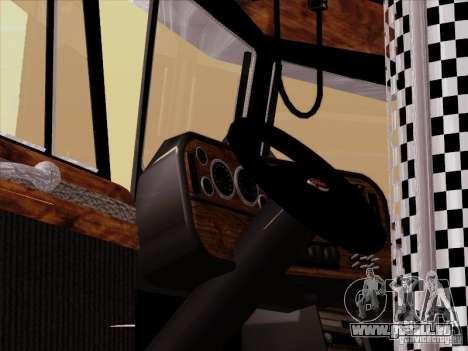 Peterbilt 378 Custom für GTA San Andreas Seitenansicht