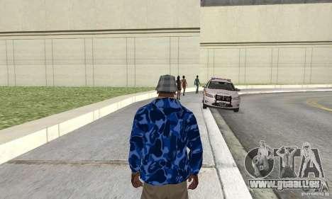 Hoody skin pour GTA San Andreas deuxième écran