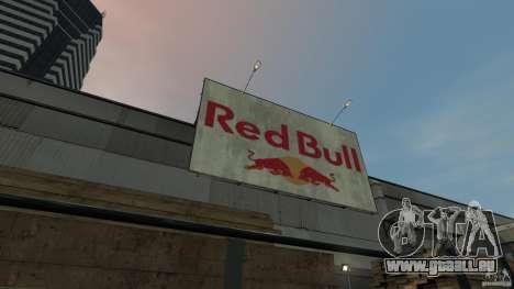 Red Bull Factory pour GTA 4 quatrième écran