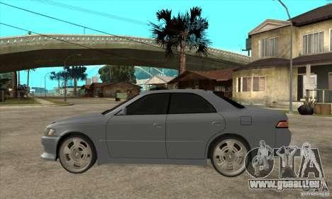 TOYOTA MARK II GT pour GTA San Andreas laissé vue