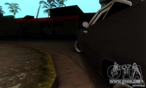 Dodge Charger RT pour GTA San Andreas vue intérieure