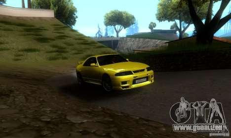 Nissan Skyline GT-R R-33 v2.0 pour GTA San Andreas