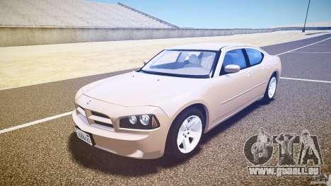 Dodge Charger RT Hemi 2007 Wh 1 pour GTA 4