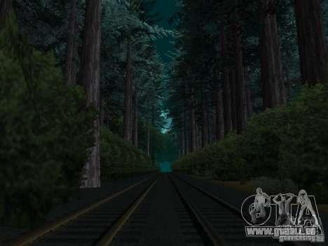 Wald in Las Venturas für GTA San Andreas her Screenshot