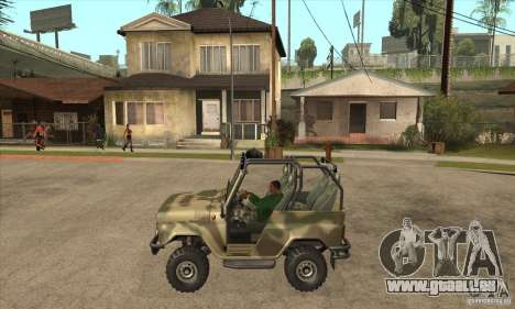 UAZ-3150 varmint pour GTA San Andreas laissé vue