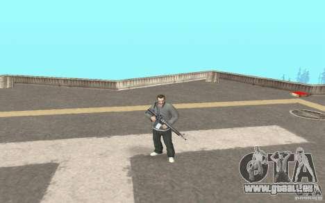 Animation de GTA IV pour GTA San Andreas deuxième écran