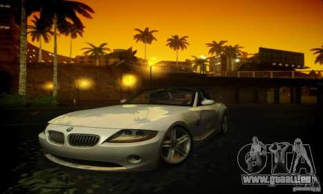 BMW Z4 für GTA San Andreas linke Ansicht