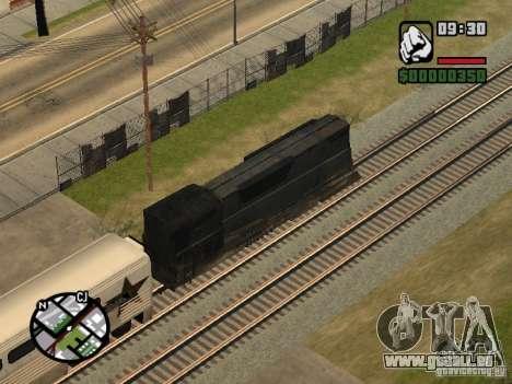 Verbinden Sie Zug aus dem Spiel Half-Life 2 für GTA San Andreas Rückansicht