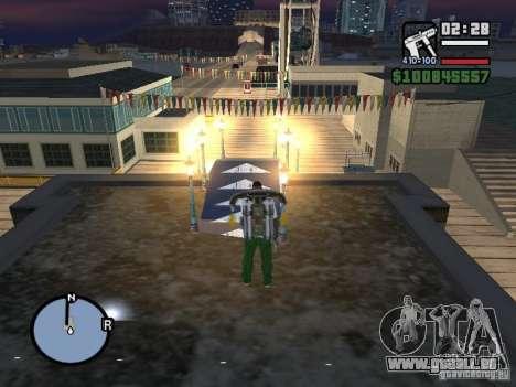 Night moto track pour GTA San Andreas cinquième écran