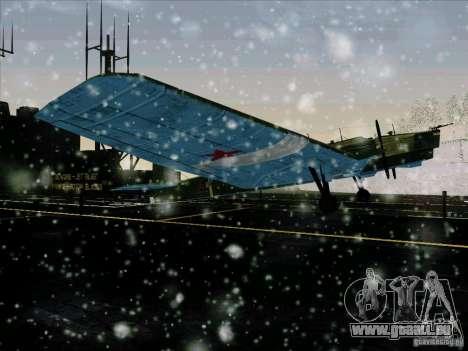 TB-3 für GTA San Andreas rechten Ansicht