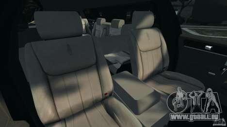 Lincoln Town Car Limousine 2006 pour GTA 4 Vue arrière