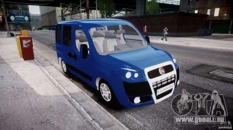 Fiat Doblo 1.9 2009 pour GTA 4 est un droit