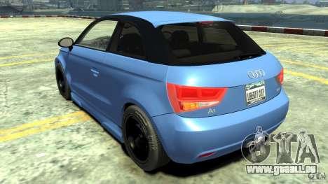 Audi A1 pour GTA 4 Vue arrière de la gauche