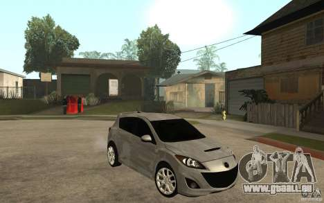 Mazda 3 Mazdaspeed 2010 pour GTA San Andreas vue arrière
