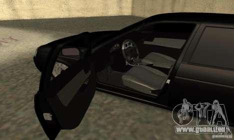 Lada 2170 Priora Pnevmo pour GTA San Andreas vue arrière