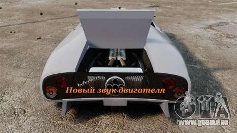 Neuen sound-Engine Infernus für GTA 4