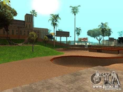New SkatePark v2 pour GTA San Andreas cinquième écran